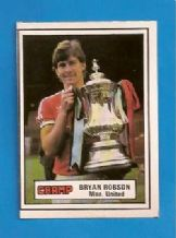 Manchester United Bryan Robson England